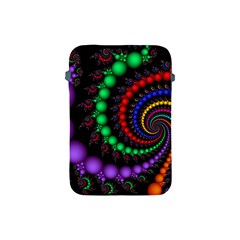 Fractal Background With High Quality Spiral Of Balls On Black Apple Ipad Mini Protective Soft Cases