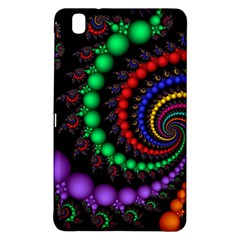 Fractal Background With High Quality Spiral Of Balls On Black Samsung Galaxy Tab Pro 8 4 Hardshell Case