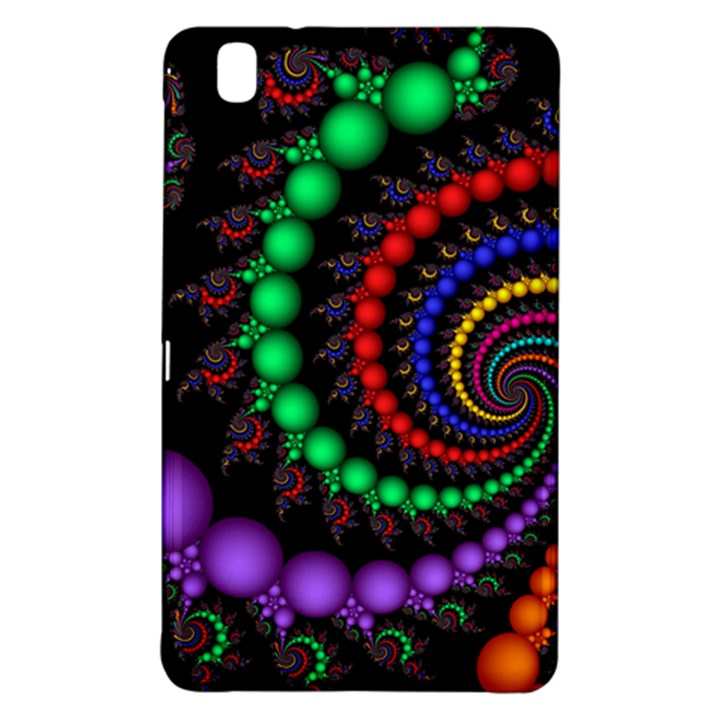 Fractal Background With High Quality Spiral Of Balls On Black Samsung Galaxy Tab Pro 8.4 Hardshell Case