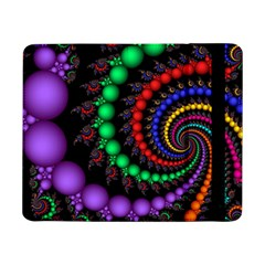 Fractal Background With High Quality Spiral Of Balls On Black Samsung Galaxy Tab Pro 8 4  Flip Case