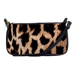 Yellow And Brown Spots On Giraffe Skin Texture Shoulder Clutch Bags by Amaryn4rt