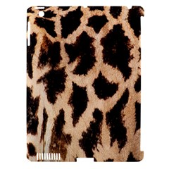 Yellow And Brown Spots On Giraffe Skin Texture Apple Ipad 3/4 Hardshell Case (compatible With Smart Cover) by Amaryn4rt