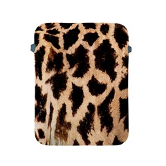 Yellow And Brown Spots On Giraffe Skin Texture Apple Ipad 2/3/4 Protective Soft Cases by Amaryn4rt