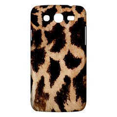 Yellow And Brown Spots On Giraffe Skin Texture Samsung Galaxy Mega 5 8 I9152 Hardshell Case  by Amaryn4rt
