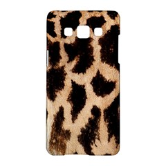 Yellow And Brown Spots On Giraffe Skin Texture Samsung Galaxy A5 Hardshell Case  by Amaryn4rt