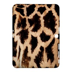 Yellow And Brown Spots On Giraffe Skin Texture Samsung Galaxy Tab 4 (10 1 ) Hardshell Case  by Amaryn4rt