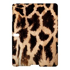 Yellow And Brown Spots On Giraffe Skin Texture Samsung Galaxy Tab S (10 5 ) Hardshell Case  by Amaryn4rt