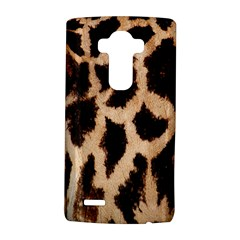 Yellow And Brown Spots On Giraffe Skin Texture Lg G4 Hardshell Case by Amaryn4rt