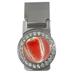 Red Pepper And Bubbles Money Clips (cz)  by Amaryn4rt