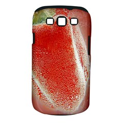 Red Pepper And Bubbles Samsung Galaxy S Iii Classic Hardshell Case (pc+silicone)
