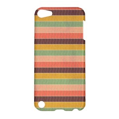 Abstract Vintage Lines Background Pattern Apple Ipod Touch 5 Hardshell Case by Amaryn4rt