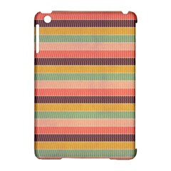 Abstract Vintage Lines Background Pattern Apple Ipad Mini Hardshell Case (compatible With Smart Cover) by Amaryn4rt
