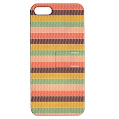 Abstract Vintage Lines Background Pattern Apple Iphone 5 Hardshell Case With Stand by Amaryn4rt