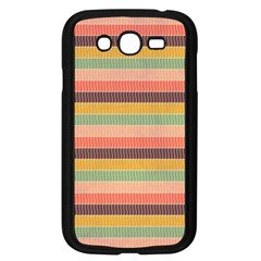Abstract Vintage Lines Background Pattern Samsung Galaxy Grand Duos I9082 Case (black) by Amaryn4rt