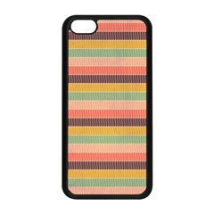 Abstract Vintage Lines Background Pattern Apple Iphone 5c Seamless Case (black) by Amaryn4rt