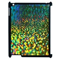 Construction Paper Iridescent Apple Ipad 2 Case (black) by Amaryn4rt