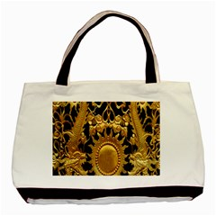 Golden Sun Basic Tote Bag (two Sides) by Amaryn4rt