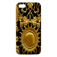 Golden Sun Apple Iphone 5 Premium Hardshell Case by Amaryn4rt