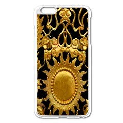 Golden Sun Apple Iphone 6 Plus/6s Plus Enamel White Case