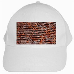 Roof Tiles On A Country House White Cap by Amaryn4rt