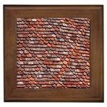 Roof Tiles On A Country House Framed Tiles Front