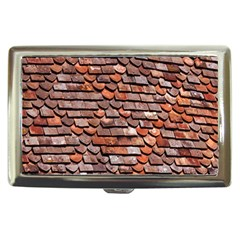 Roof Tiles On A Country House Cigarette Money Cases by Amaryn4rt