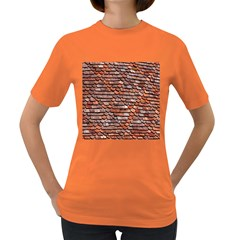 Roof Tiles On A Country House Women s Dark T Shirt by Amaryn4rt