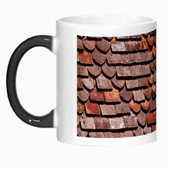 Roof Tiles On A Country House Morph Mugs by Amaryn4rt