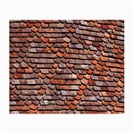 Roof Tiles On A Country House Small Glasses Cloth Front