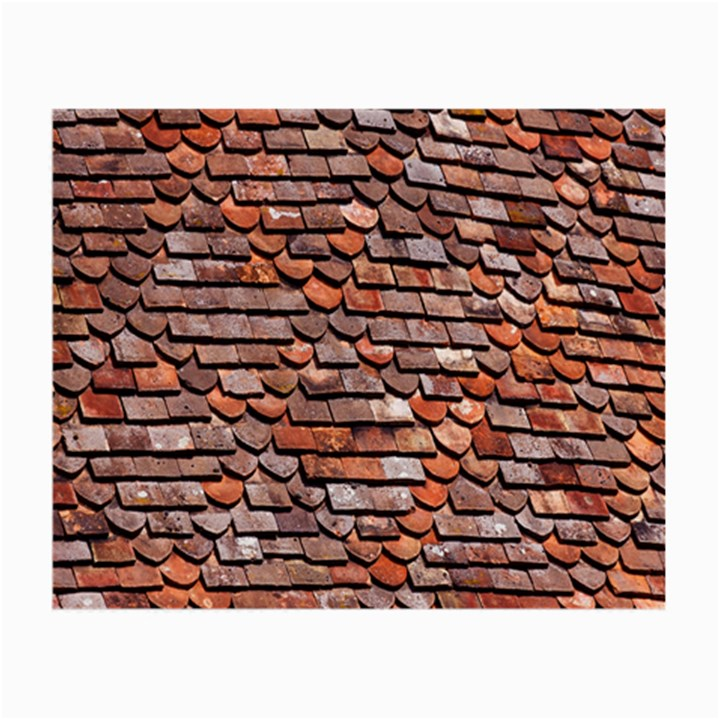 Roof Tiles On A Country House Small Glasses Cloth