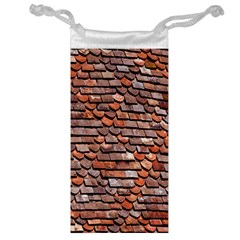 Roof Tiles On A Country House Jewelry Bag by Amaryn4rt