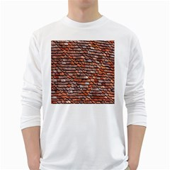 Roof Tiles On A Country House White Long Sleeve T Shirts by Amaryn4rt