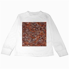 Roof Tiles On A Country House Kids Long Sleeve T Shirts by Amaryn4rt