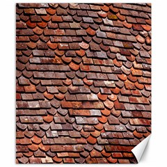 Roof Tiles On A Country House Canvas 8  X 10  by Amaryn4rt