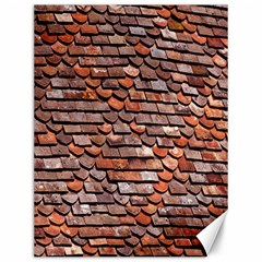 Roof Tiles On A Country House Canvas 12  X 16   by Amaryn4rt