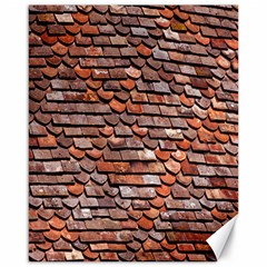 Roof Tiles On A Country House Canvas 16  X 20   by Amaryn4rt