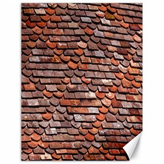 Roof Tiles On A Country House Canvas 18  X 24   by Amaryn4rt