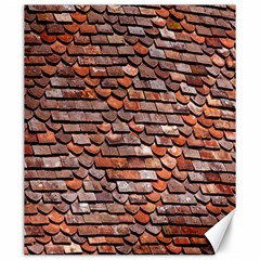 Roof Tiles On A Country House Canvas 20  X 24   by Amaryn4rt