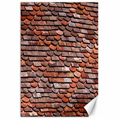 Roof Tiles On A Country House Canvas 20  X 30   by Amaryn4rt