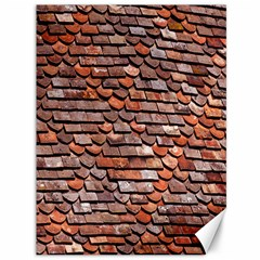 Roof Tiles On A Country House Canvas 36  X 48   by Amaryn4rt