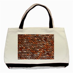 Roof Tiles On A Country House Basic Tote Bag (two Sides)