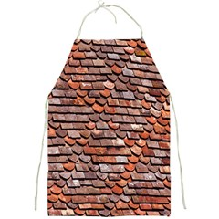 Roof Tiles On A Country House Full Print Aprons by Amaryn4rt