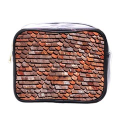 Roof Tiles On A Country House Mini Toiletries Bags by Amaryn4rt