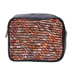 Roof Tiles On A Country House Mini Toiletries Bag 2 Side by Amaryn4rt