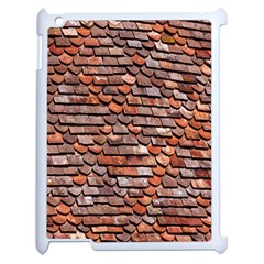 Roof Tiles On A Country House Apple Ipad 2 Case (white) by Amaryn4rt