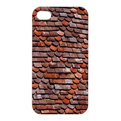 Roof Tiles On A Country House Apple Iphone 4/4s Premium Hardshell Case by Amaryn4rt