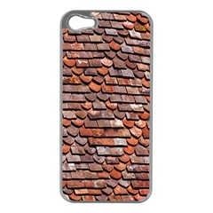 Roof Tiles On A Country House Apple Iphone 5 Case (silver) by Amaryn4rt