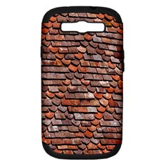 Roof Tiles On A Country House Samsung Galaxy S Iii Hardshell Case (pc+silicone) by Amaryn4rt