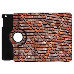 Roof Tiles On A Country House Apple Ipad Mini Flip 360 Case by Amaryn4rt