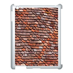 Roof Tiles On A Country House Apple Ipad 3/4 Case (white) by Amaryn4rt